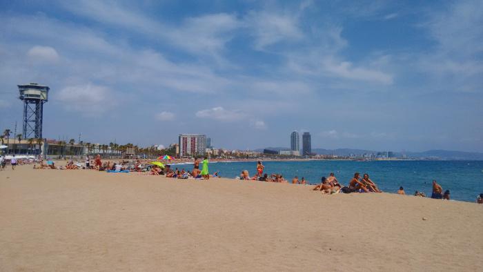 Barcelona Autrement - Les Plages de Barcelone - Sant Sebastià