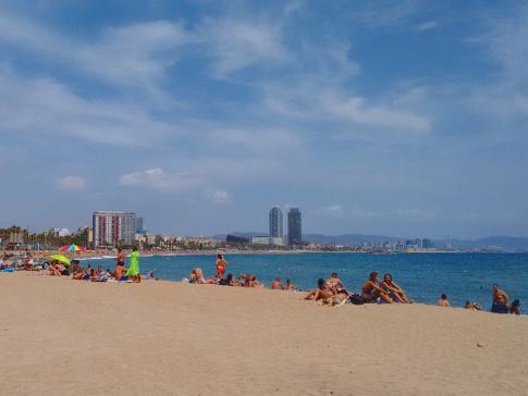 Barcelona Autrement - Les Plages de Barcelone - Sant Sebastià(1)