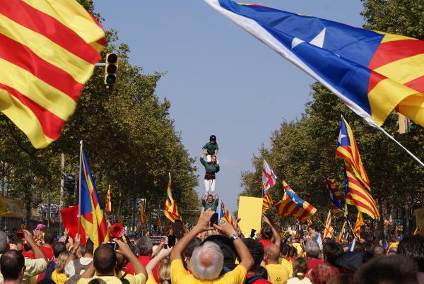 Barcelona Autrement - Diada 11 septembre - Castells