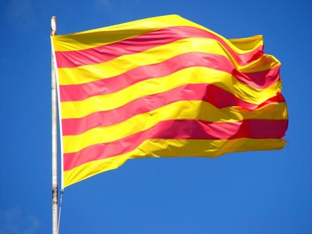 Barcelona Autrement - Diada 11 septembre - Drapeau Catalogne