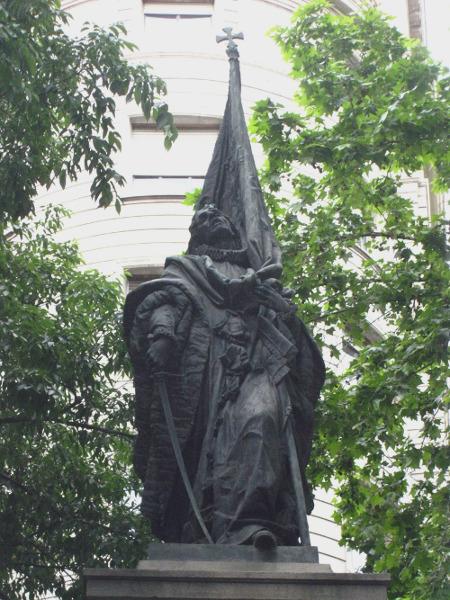 Barcelona Autrement - Diada 11 septembre - Monument Rafael Casanova