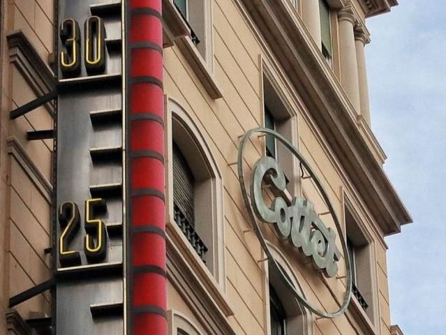 Un thermomètre géant à Barcelone