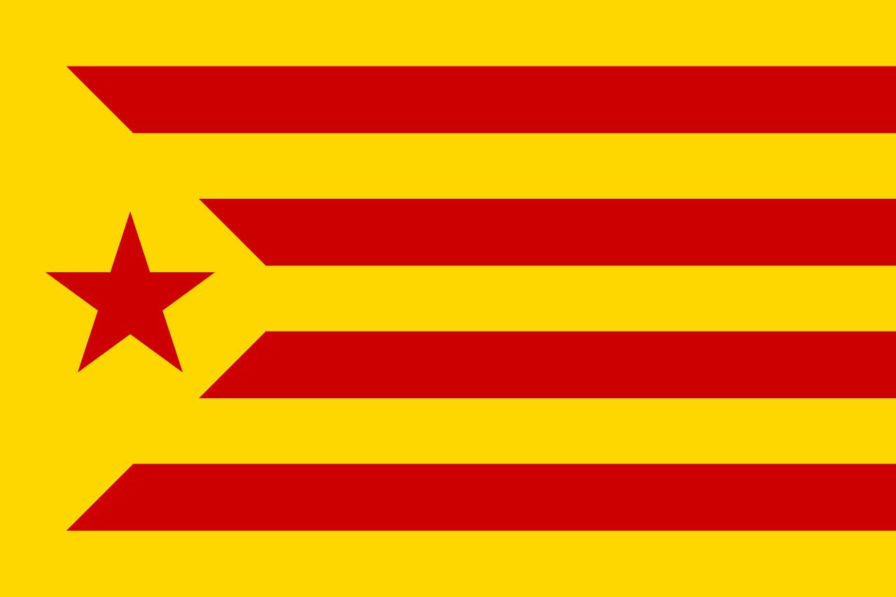 Là aussi on souhaite l'indépendance de la Catalogne, mais on est de gauche, voir d'extrême gauche.