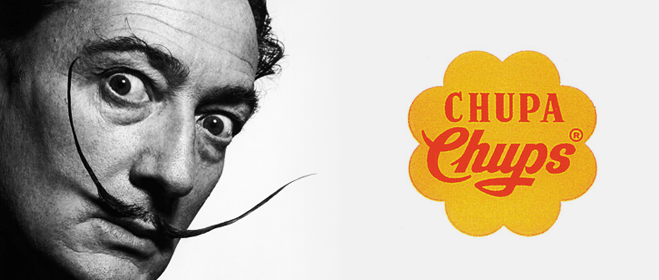 Barcelona Autrement - Point commun entre Chupa Chups et la Casa Batlló - Logo Dalí